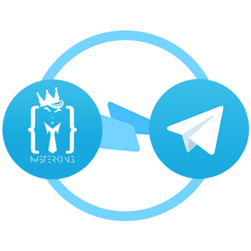Use Telegram bot to get notifications about your MasterkinG account